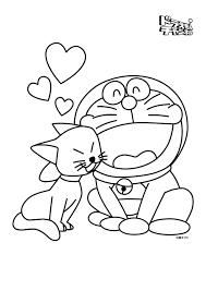 Doraemon Printable Coloring Pages