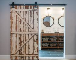 5 Things Every Fixer Upper-Inspired Farmhouse Bathroom Needs ... Closet Door Tracks Systems July 2017 Asusparapc Best 25 Reclaimed Doors Ideas On Pinterest Laundry Room The Country Vintage Barn Features A Lightly Distressed Finish Home Accents 80 Sliding Console 145132 Abide Fniture Find Out Doors Melbourne Saudireiki Articles With Antique Uk Tag Images Minimalist Horse Shoe Track Full Arrow T Shaped Hdware Set An Old Wooden Rustic Vintage Barn Door Stock Photo Royalty Free Custom Sliding Windows Price Is For