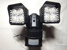 Review of SANSI LED Security Motion Sensor Outdoor Lights