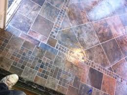 slate tile flooring home depot