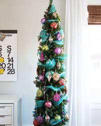 6ft Slim Christmas Tree With Lights by Christmas Slim Christmas Trees For Saleslim Prelit Small