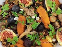 cuisiner le potimarron en l馮ume plancha de potimarron chignons et fruits d automne légumes