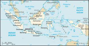 Map 1 Modern Day Indonesia
