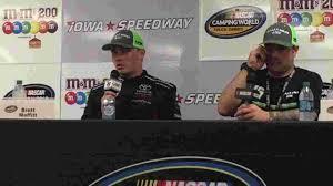 100 Ttt Truck Stop NASCAR Truck Series Iowas Brett Moffitt Reigns At Iowa Speedway