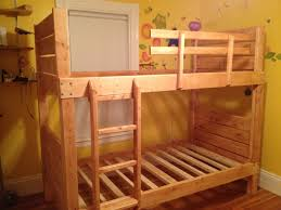 Free Plans For Building A Bunk Bed by Ana White Sturdy Bunk Beds Diy Projects