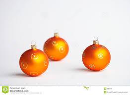 Download Orange Christmas Tree Balls