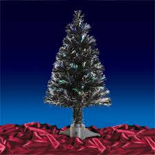 black christmas tree fibre optic rainforest islands ferry