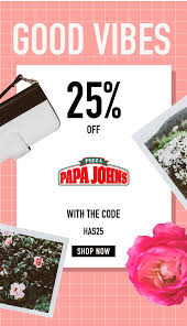 25% Off All Regular Items   Papa John's Pizza Coupons Displays2go Coupon October 2018 American Girl Code 15 Off 30 On Hsn Facebook15 Muaontcheap Coupon Code For Existing Customers Home Facebook Progress Made But Miles Still To Go Qvc Codes New Customer Bath And Body Works Horus Rc Codes Free Shipping W September 2019 What To Buy From The Best In Beauty Sale Fall Comcasts Unappealing Pitch Cord Cutters Techhive Deep Discounts Department Stores Influence Consumer Pele Melissa Doug Very For Existing Customers Texas Road House Texarkana 2017 Labor Day Sales And Promo 100