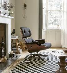 der moderne schwarze sessel ottomann vitra verleiht