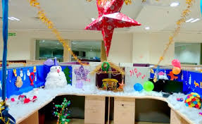 Funny Christmas Cubicle Decorating Ideas by 40 New Christmas Cubicle Decorations U0026 Christmas Office Decoration