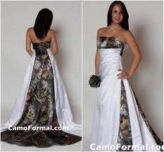 discount 2017 strapless camo wedding dress with pleats empire