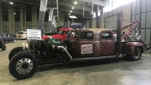 Detroit 8V92 2-Stroke Diesel Rat Rod Burnout - YouTube