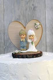 Best Solutions Of Wooden Wedding Cake Toppers Also Precious Moments Rustic Topper