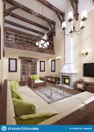 100 Interior Design High Ceilings The Is Modern English Style With A Fireplace