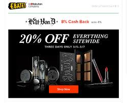 Kat Von D - 20% Off Sitewide + Free Shipping + 8% Ebates ... Powergraphicscom Coupon Code Sunny King Toyota Service Disney Discount Kennedy Space Center Promo Codes Butterfly Kohls In Store August 2019 Renaissance European Day Busykid Best Stores Paris Win A 200 Guitar Center Gift Card Signup Via Facebook Or Metrotix Heilman Auto Oil Change Cardekho Coupons Jj Keller Land O Lakes Butter Digital Instacart Safeway Driveshaftparts Com The Cove Riverside 16 Ways Your Competitors Are Using Coupon Codes To Drive