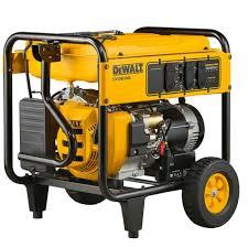 Generac Portable Generator Shed dewalt 7 000 watt gasoline powered electric start portable
