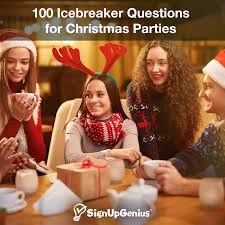 100 Icebreaker Questions For Christmas Parties Christmas