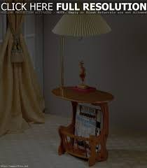 End Table With Attached Lamp by Wood End Table With Lamp Attached Best Table Decoration