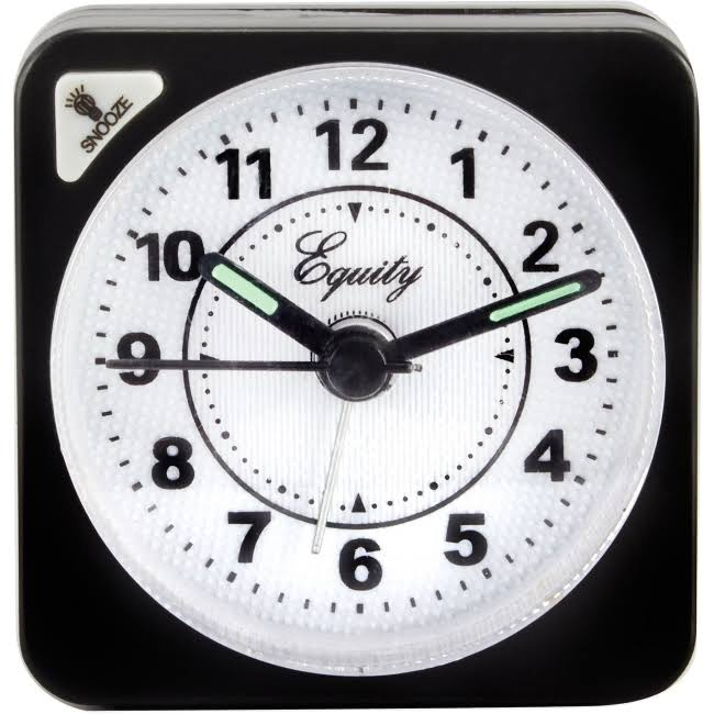 La Crosse Technology Equity Quartz Travel Alarm