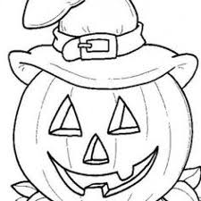 Scary Halloween Coloring Pages To Print by Pumpkin Color Page