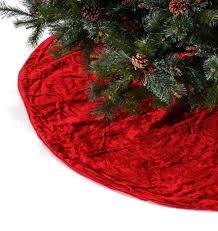 Red Velvet Heirloom Christmas Tree Skirts