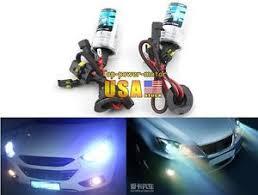 2pcs h7 hid xenon headlight bulbs single beam replacement l 35w