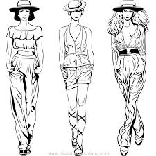 Fashion Drawing Sketches Femalejpeg
