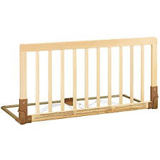 queen bed side rails wood