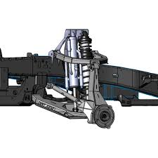 100 Trophy Truck Suspension Kits Dirt King Fabrication DK541909 04 Race Front LongTravel