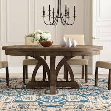 6 Seat Round Kitchen & Dining Tables You'll Love In 2019 ... Buy Round Kitchen Ding Room Sets Online At Overstock Amish Fniture Hand Crafted Solid Wood Pedestal Tables Starowislna 5421 54 Inch Country Table With Distressed Painted Pedestal Typical Measurements Hunker Caster Chair Company 7 Piece Set We5z9072 Wood Picture Decor 580 Tables World Interiors Austin Tx Clearance Center Dinettes And Collections Costco Saarinen Tulip Marble