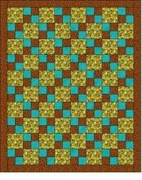 Square Quilt Patterns 56 best ideas about 3 fabric quilt on
