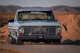 100 F100 Ford Truck LS Powered 1969 The Blue Oval Gets An LS Heart