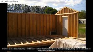 16x20 Shed Plans With Porch by Shed Plans With Porch Youtube