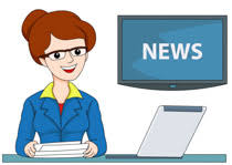 Female Tv News Anchor Clipart Size 94 Kb From Occupation