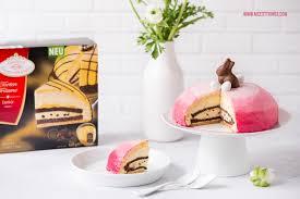 ostertorte dekorieren ombre torte mit farbverlauf in rosa