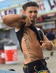 This Tattoo Is On The Right Side Of Pauly D And It Stretches From His Armpit To Hip Why Did He Get Claims Love Cadillacs