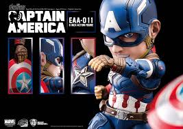 Egg Attack Action EAA 011 Captain America Avengers Age Of Ultron
