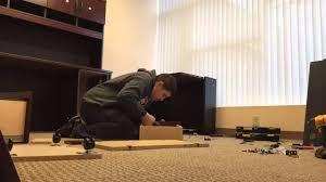 Sauder Shoal Creek Dresser Assembly Instructions by Sauder Furniture Assembly Youtube