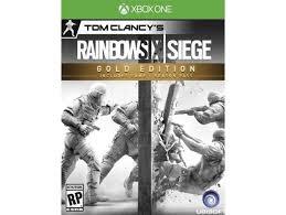 siege xbox one buy xbox one tom clancy s rainbow six siege gold edition in