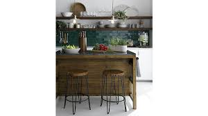 Crate And Barrel Dining Room Furniture by Bluestone Reclaimed Wood Large Kitchen Island Crate And Barrel
