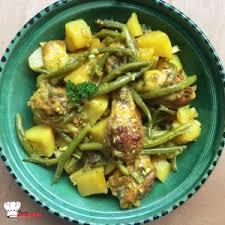 cuisiner des haricots verts tajine de poulet haricots verts recette cookeo mimi cuisine