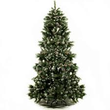 Lifelike Artificial Christmas Trees Uk by 6ft Luxury Green Artificial Christmas Tree With Snow Tips Xmas Tree