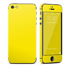 Solid State Yellow OtterBox muter iPhone 5 Skin