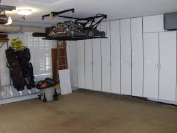 Ceiling Bike Rack Diy by Retractable Garage Storage Solutions Ceiling Storage Solutions