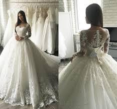 Dubai Princess Lace Wedding Dress line Shopping