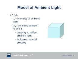 Definition Ambient Lighting Defined Architecture Model Light