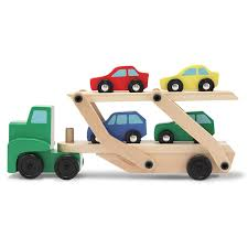 100 Toy Car Carrier Truck US 1374 15 OFF Rier And S Wooden Set With 1 And 4 Sin Diecasts Vehicles From S Hobbies On AliExpress