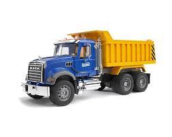 100 Bruder Trucks Toys MACK Dump Truck 02815