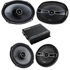 100 Truck Stereo Systems Car Speaker Bluetooth Streming Set Bundle Combo With 2 Kicker