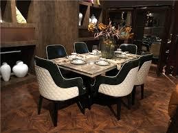 luxus marmor top 8 sitzer esszimmer runden tisch und stuhl set moderne massivholz esstisch buy stühle und tisch esstische und stühle set esszimmer